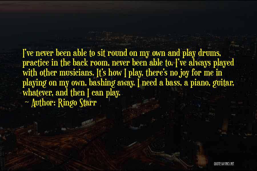 Practice Guitar Quotes By Ringo Starr