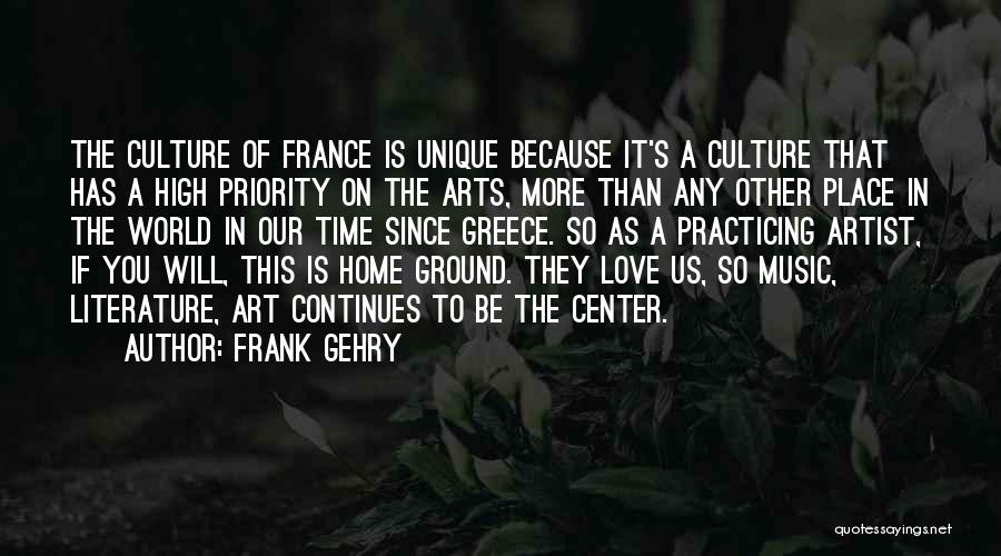 Practicing Art Quotes By Frank Gehry
