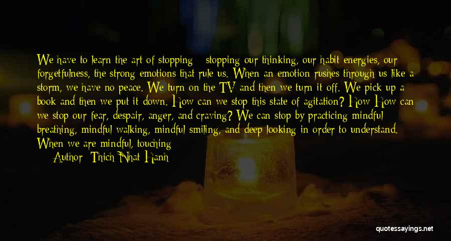 Practicing Art Quotes By Thich Nhat Hanh