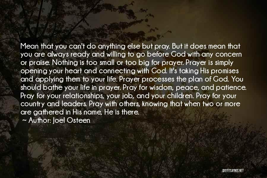Top 57 Quotes Sayings About Prayer And Patience