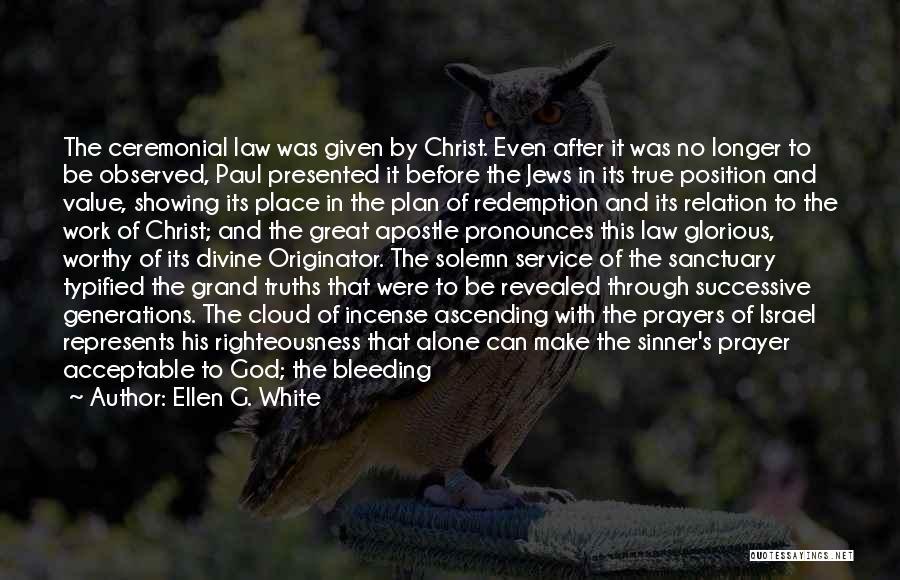 Prayer Before Work Quotes By Ellen G. White