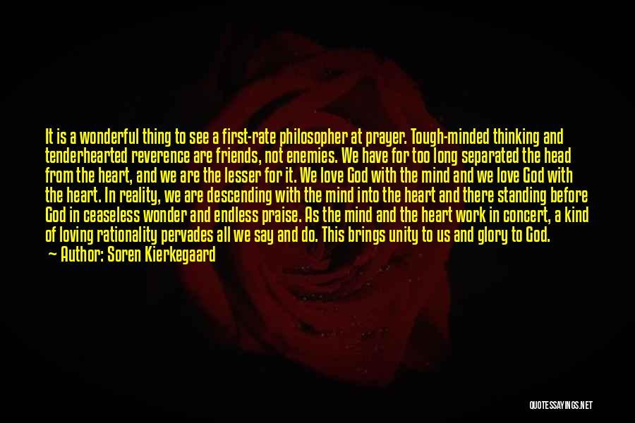 Prayer Before Work Quotes By Soren Kierkegaard