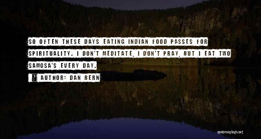Praying Often Quotes By Dan Bern