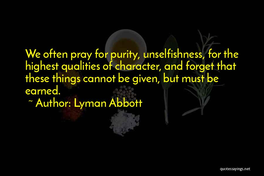 Praying Often Quotes By Lyman Abbott