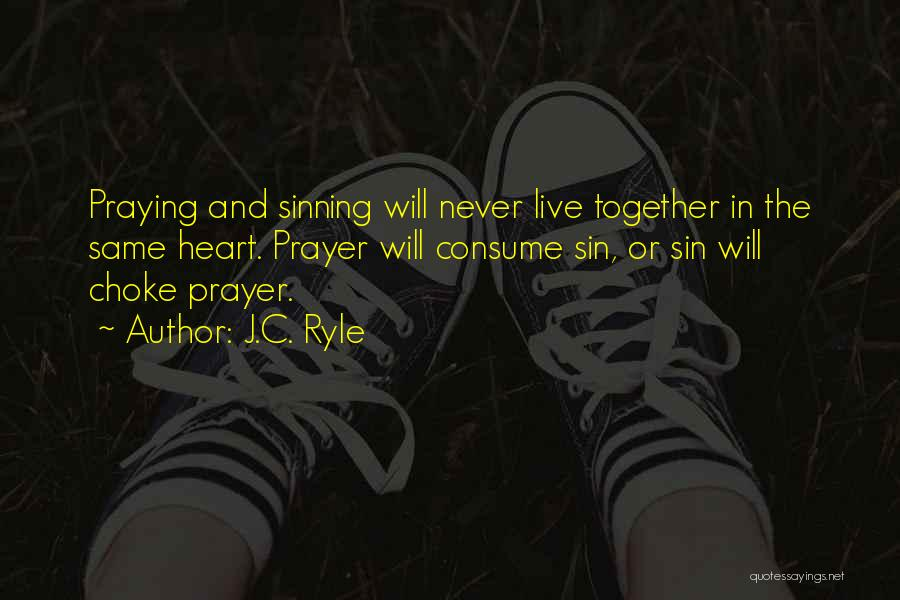 Praying Together Quotes By J.C. Ryle