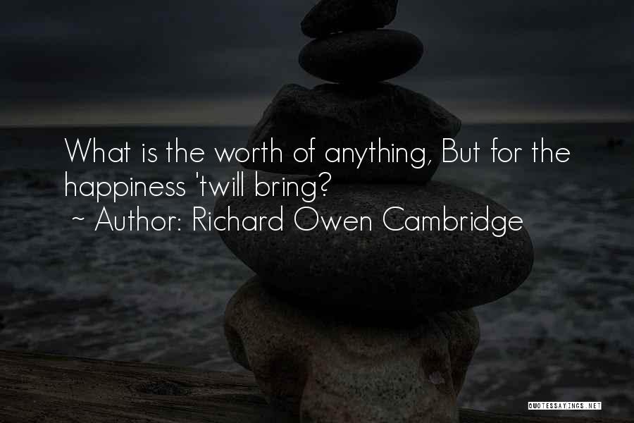 Pre Birthday Surprise Quotes By Richard Owen Cambridge