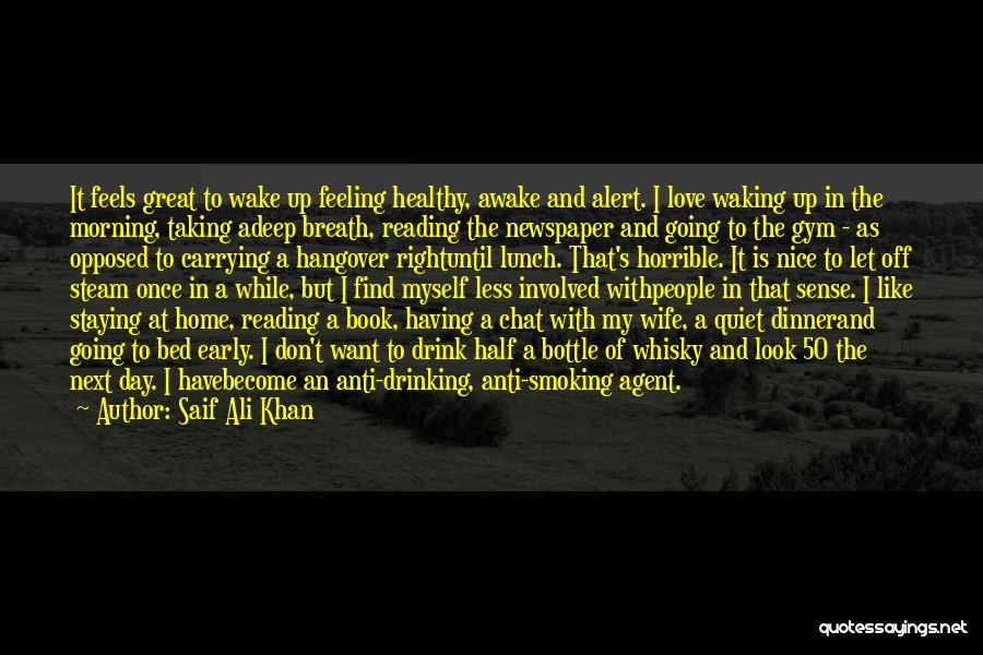 Pre Birthday Surprise Quotes By Saif Ali Khan