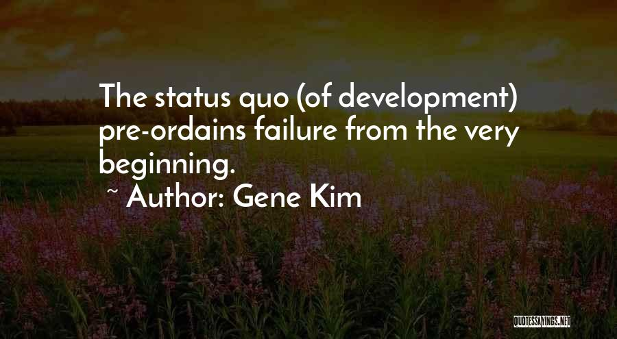 Pre Quotes By Gene Kim