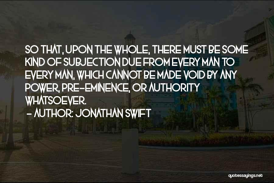 Pre Quotes By Jonathan Swift