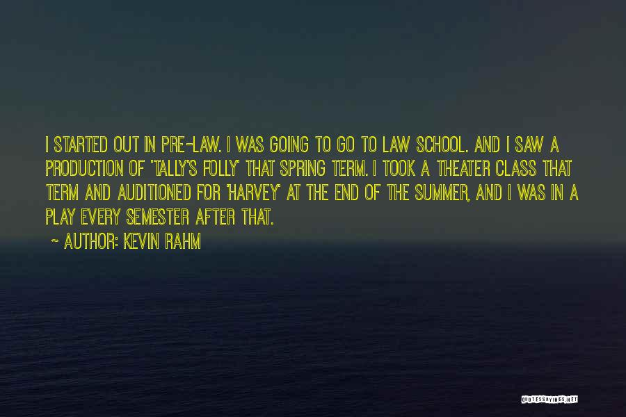 Pre Quotes By Kevin Rahm
