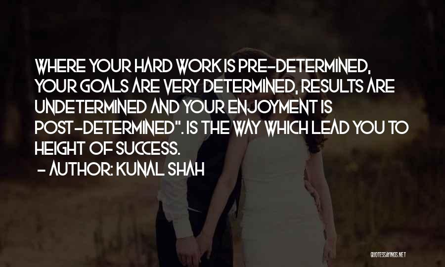 Pre Quotes By Kunal Shah