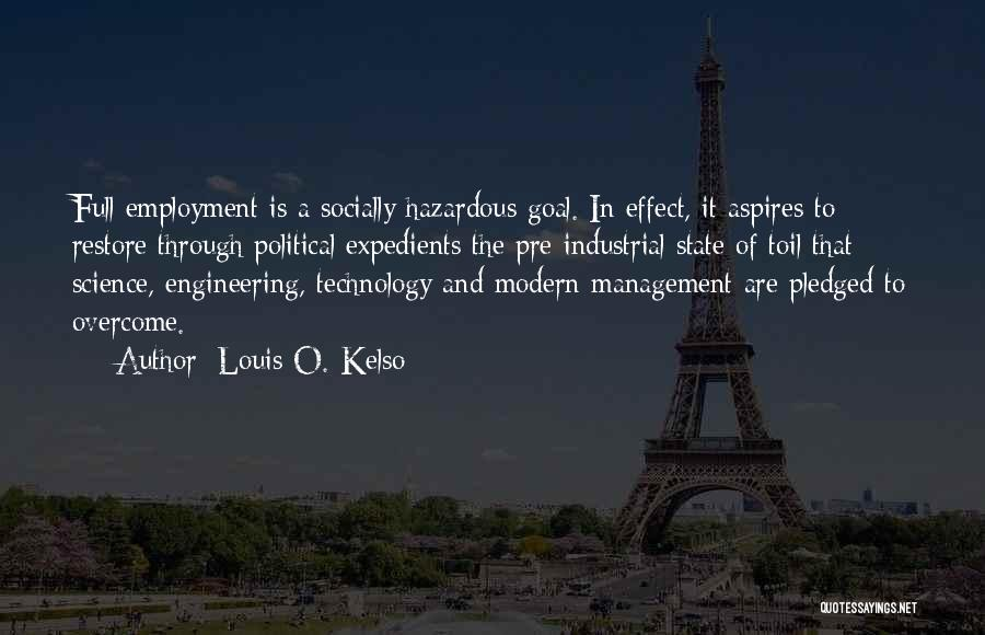 Pre Quotes By Louis O. Kelso