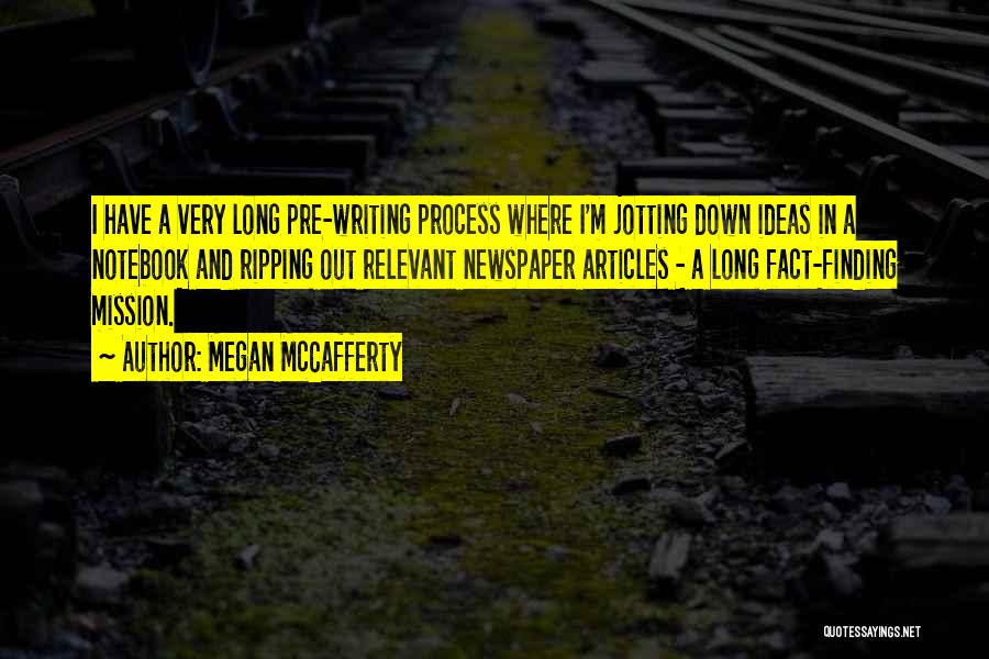 Pre Quotes By Megan McCafferty