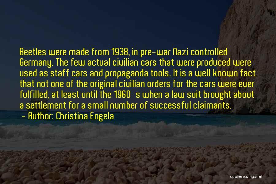 Pre War Quotes By Christina Engela