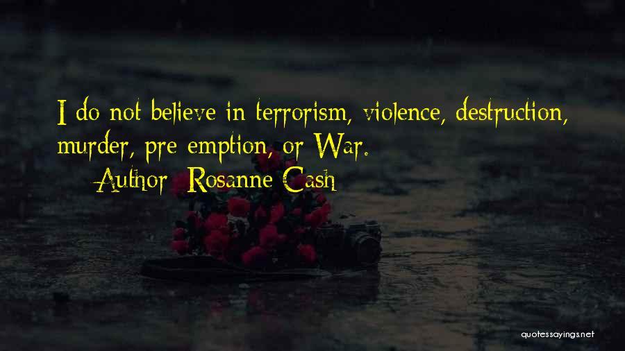 Pre War Quotes By Rosanne Cash