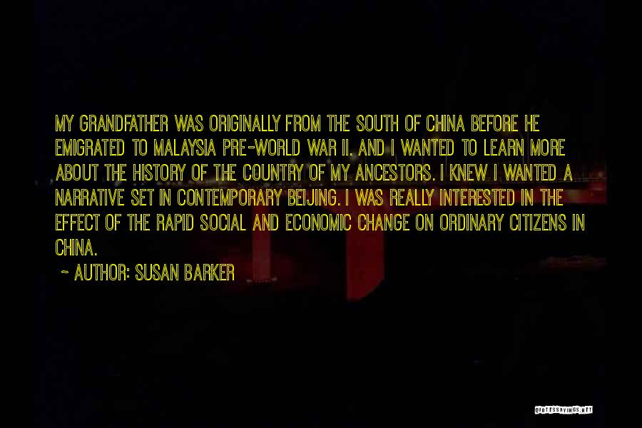 Pre War Quotes By Susan Barker