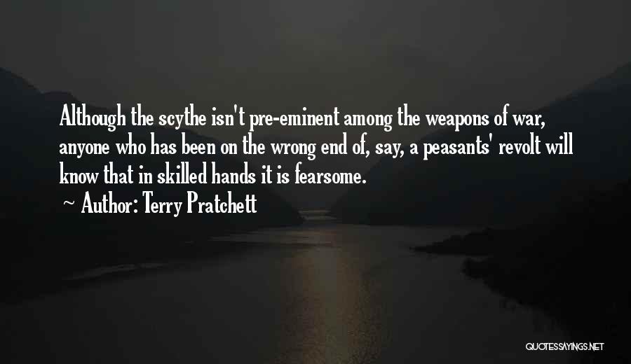 Pre War Quotes By Terry Pratchett