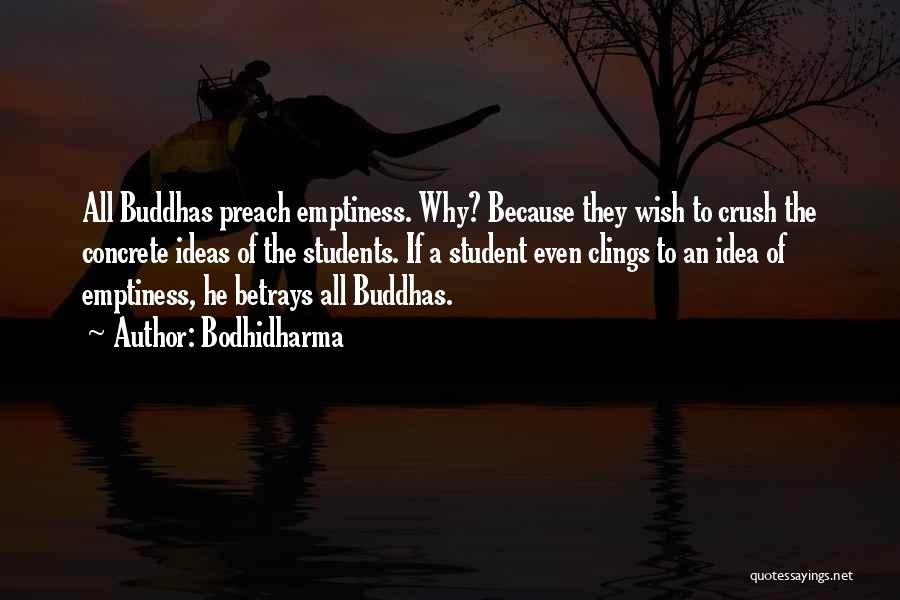 Preach Quotes By Bodhidharma
