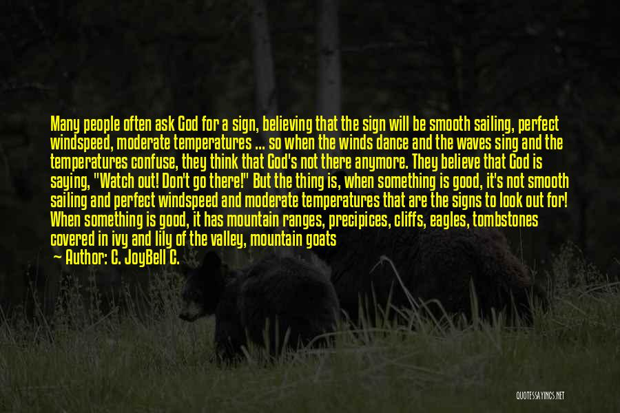 Precipices Quotes By C. JoyBell C.