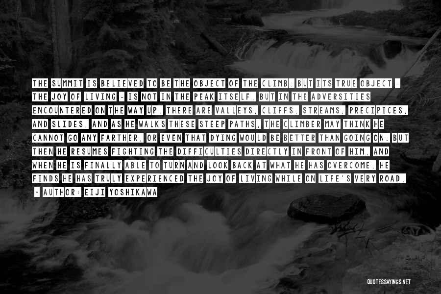 Precipices Quotes By Eiji Yoshikawa