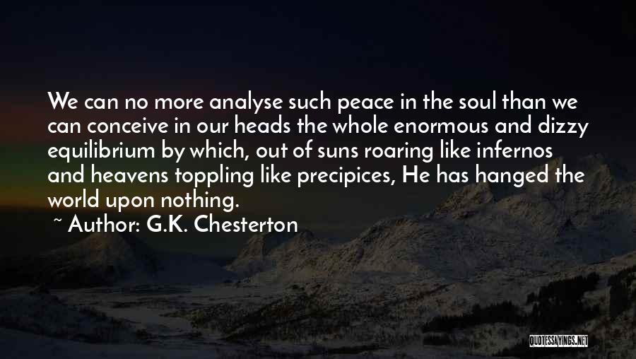 Precipices Quotes By G.K. Chesterton