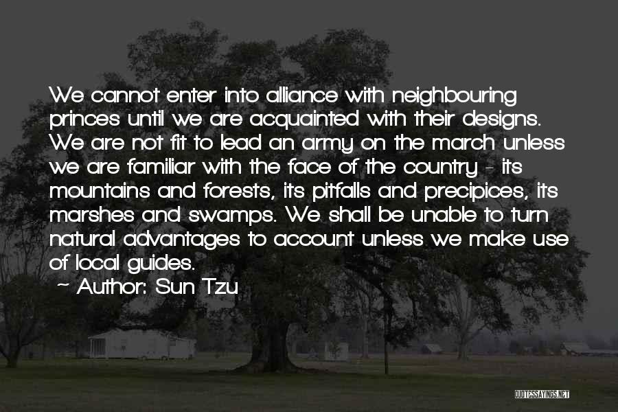 Precipices Quotes By Sun Tzu