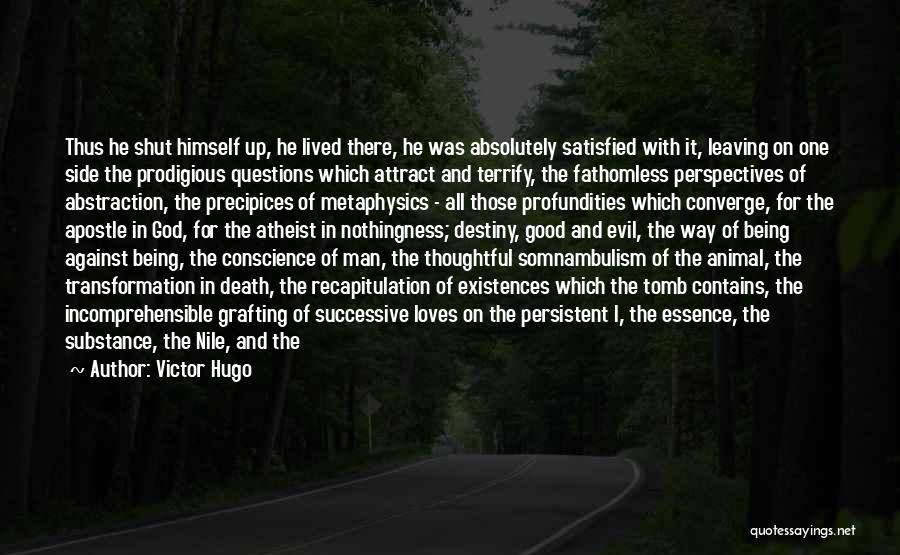 Precipices Quotes By Victor Hugo