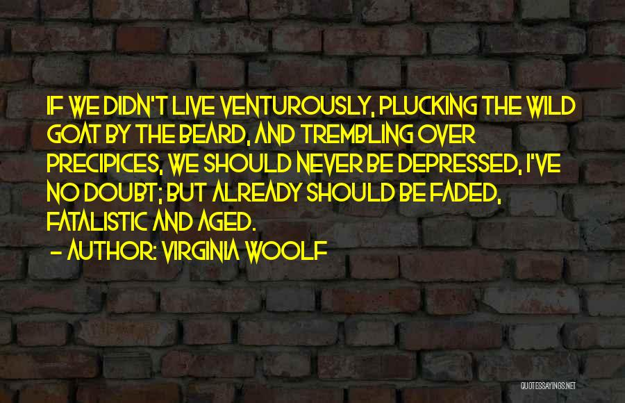 Precipices Quotes By Virginia Woolf