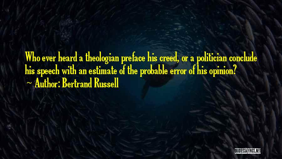 Preface Quotes By Bertrand Russell