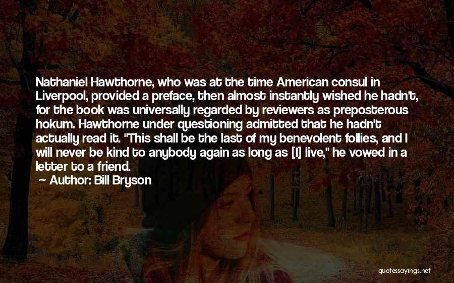 Preface Quotes By Bill Bryson