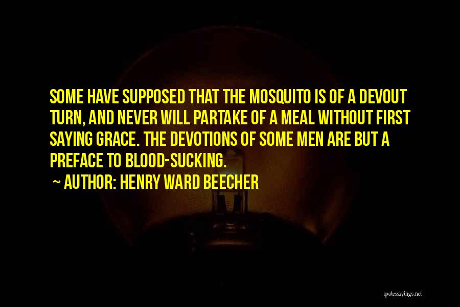Preface Quotes By Henry Ward Beecher