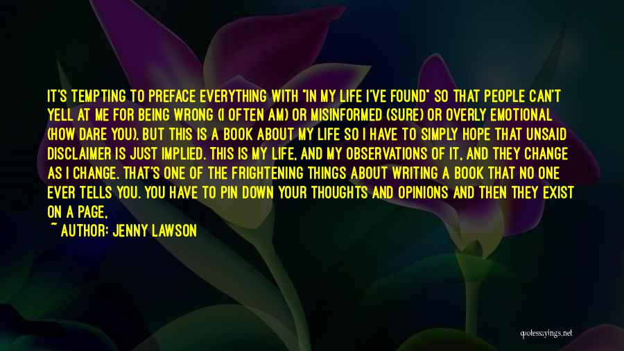 Preface Quotes By Jenny Lawson