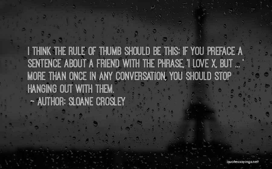 Preface Quotes By Sloane Crosley