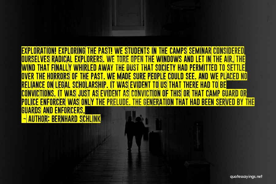 Prelude Quotes By Bernhard Schlink