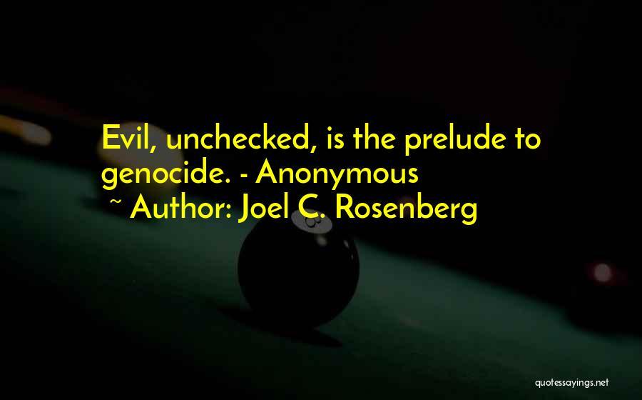Prelude Quotes By Joel C. Rosenberg