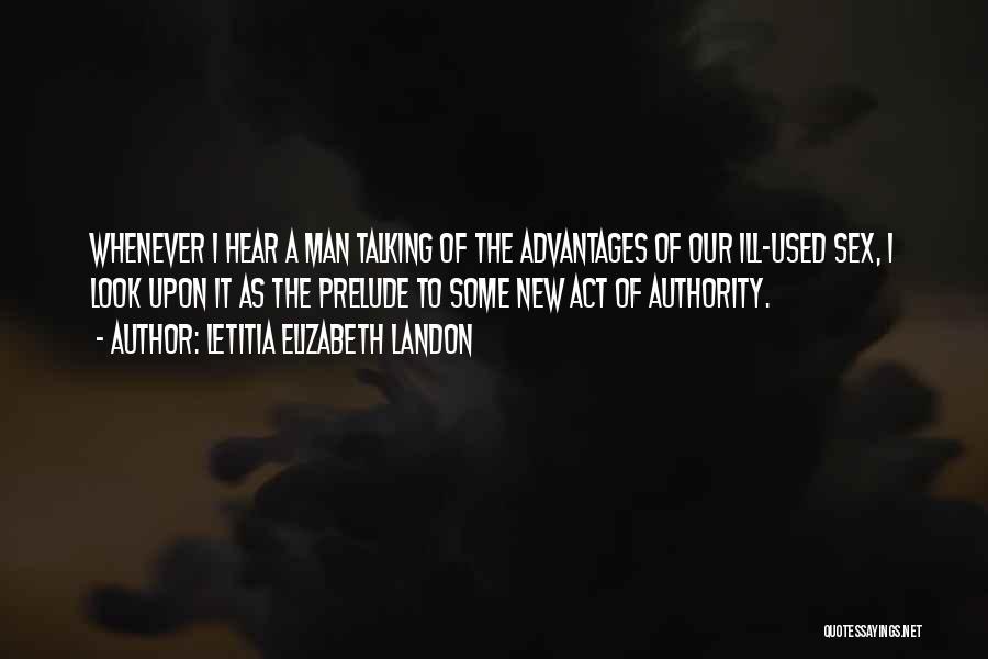 Prelude Quotes By Letitia Elizabeth Landon