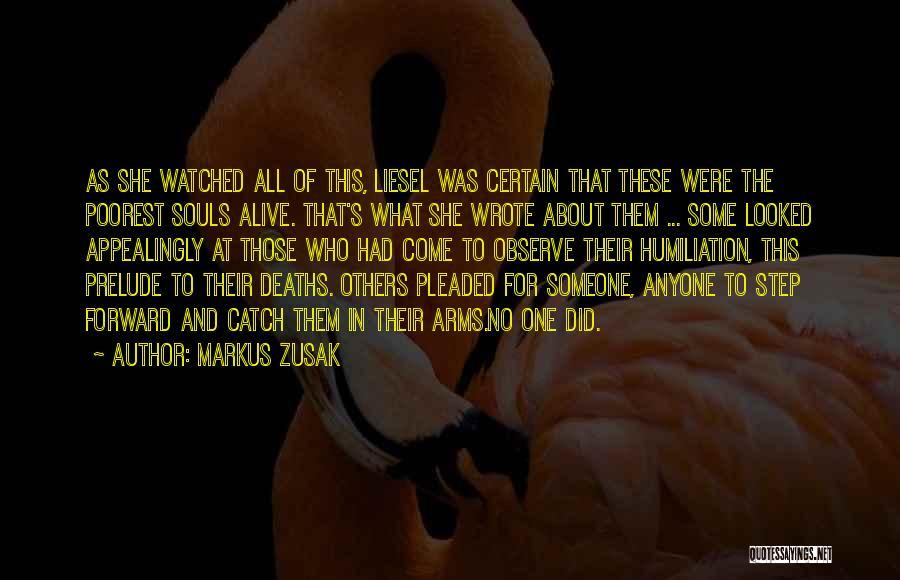 Prelude Quotes By Markus Zusak