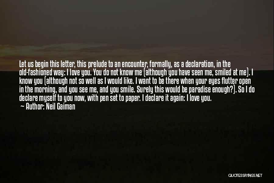 Prelude Quotes By Neil Gaiman
