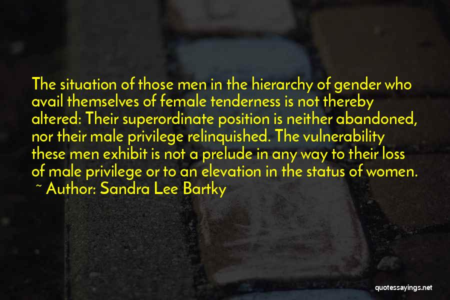 Prelude Quotes By Sandra Lee Bartky