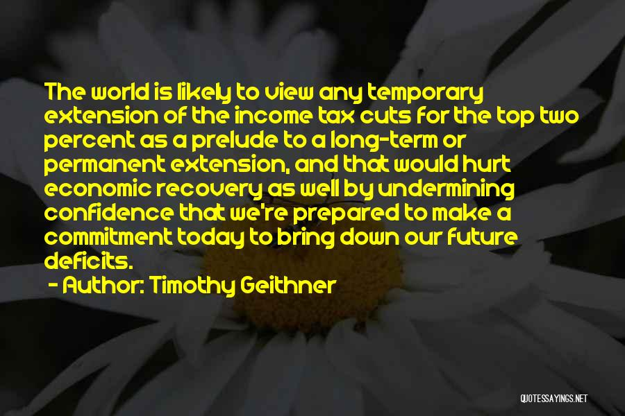 Prelude Quotes By Timothy Geithner