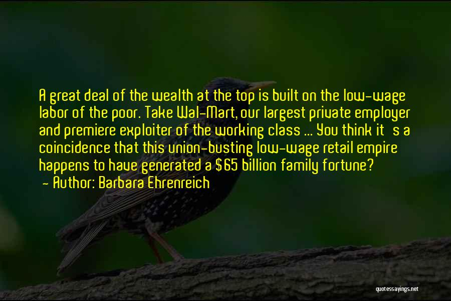 Premiere Quotes By Barbara Ehrenreich