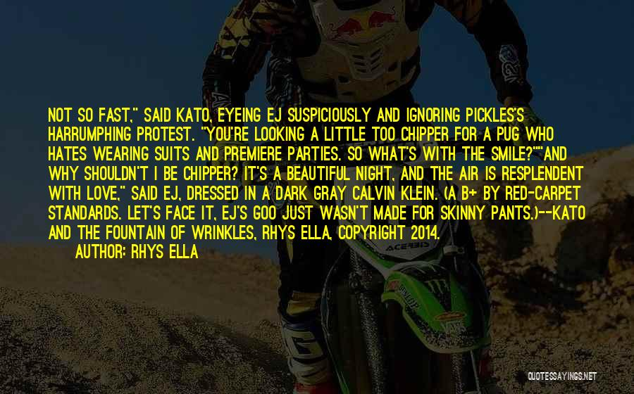 Premiere Quotes By Rhys Ella