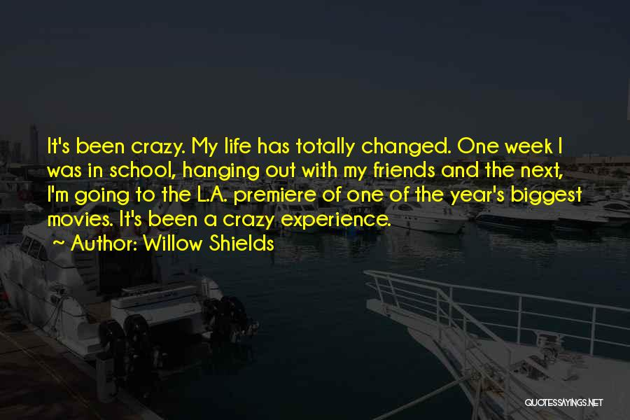 Premiere Quotes By Willow Shields