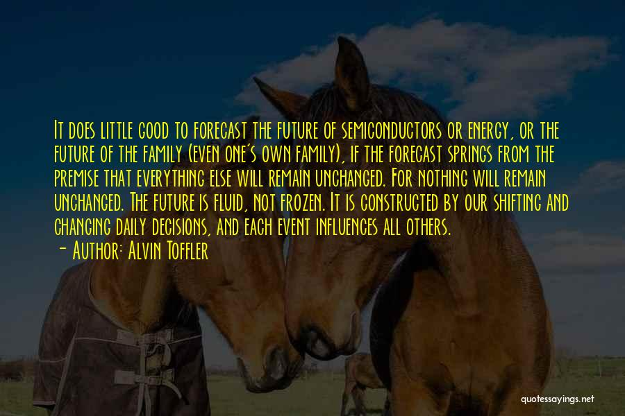 Premise Quotes By Alvin Toffler