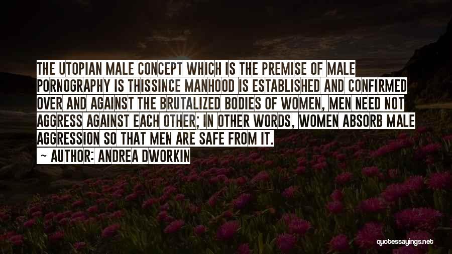 Premise Quotes By Andrea Dworkin