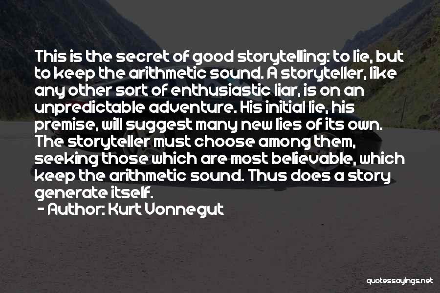 Premise Quotes By Kurt Vonnegut