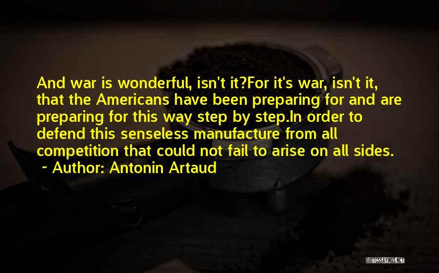 Preparing Quotes By Antonin Artaud