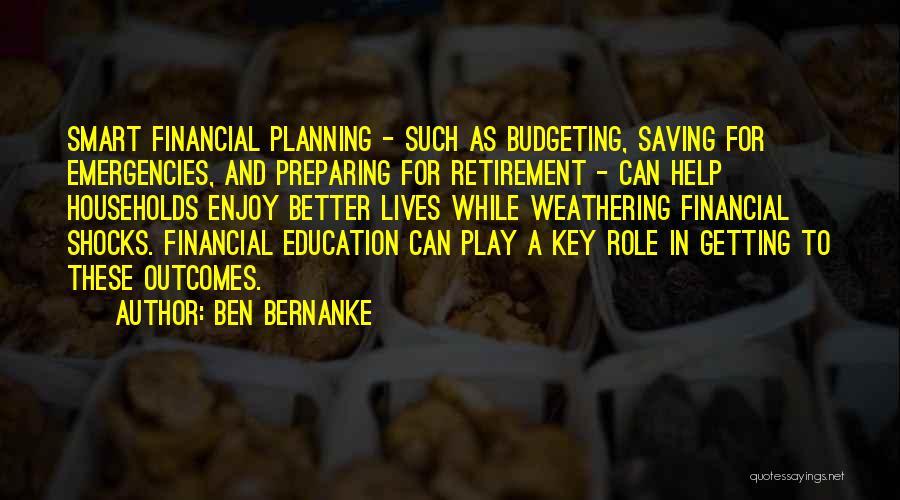 Preparing Quotes By Ben Bernanke