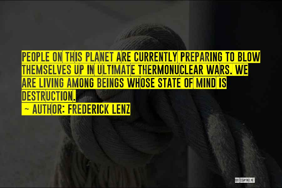 Preparing Quotes By Frederick Lenz