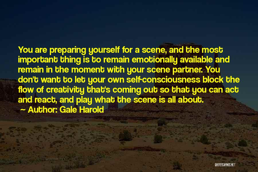 Preparing Quotes By Gale Harold